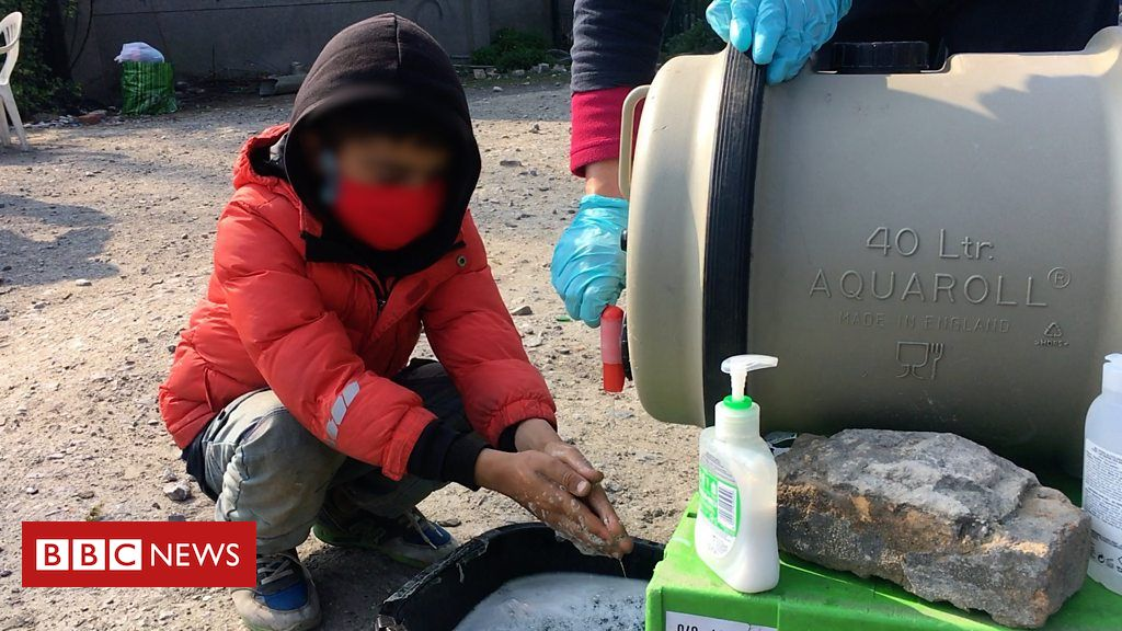 The 18-year-old offering at Calais' camps