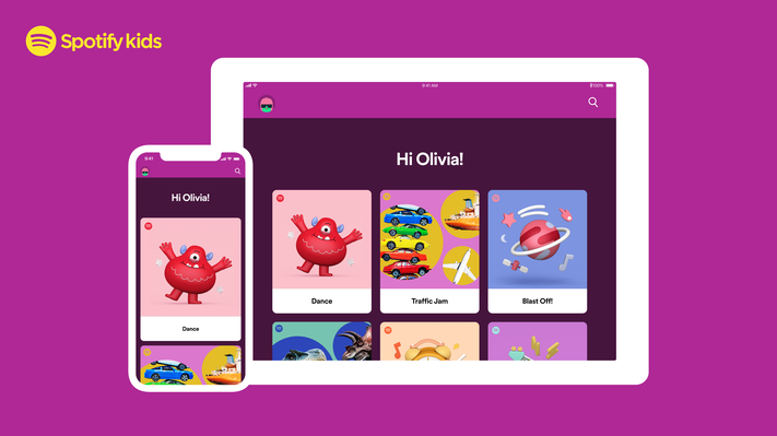 Spotify Kids app rolls out blocking, listening history features for parents
