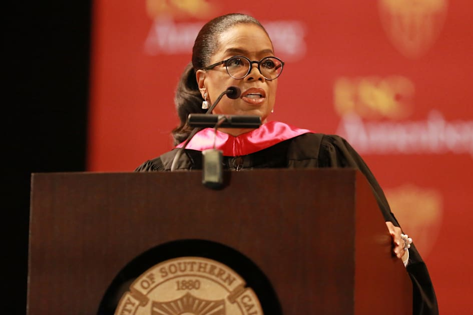 Oprah and Facebook collaborate to host a virtual graduation ceremony