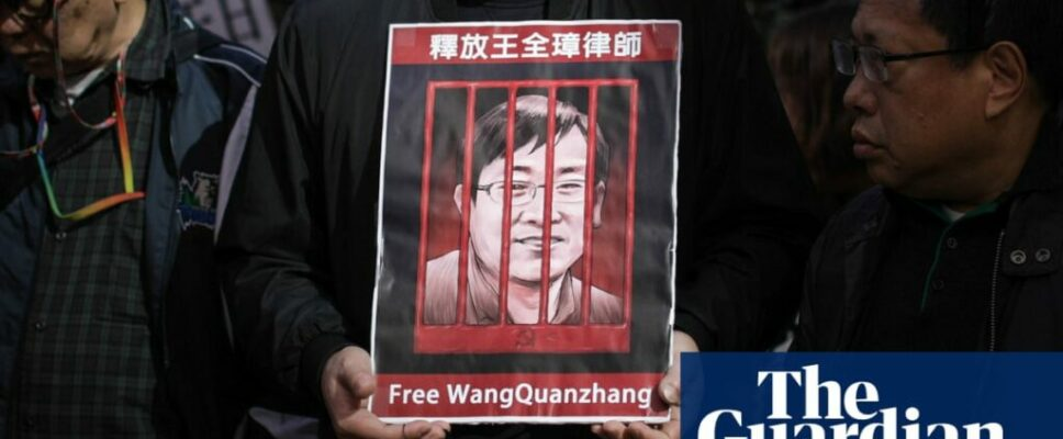 United States advises China to let human rights legal representative return home after 'unjust detention'