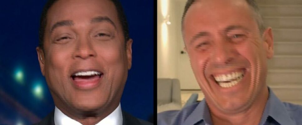 Don Lemon remains in stitches over Chris Cuomo's new haircut