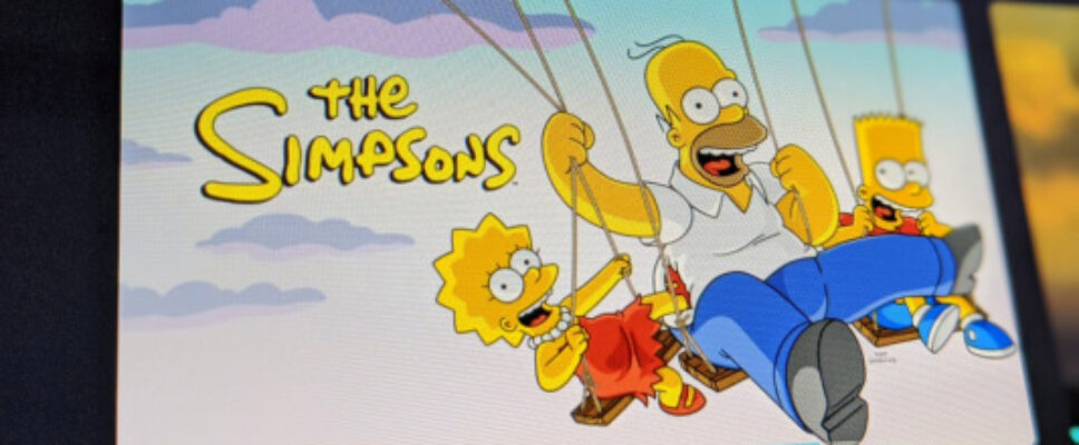 The Simpsons can now be seen in 4:3 aspect ratio on Disney , as nature desired
