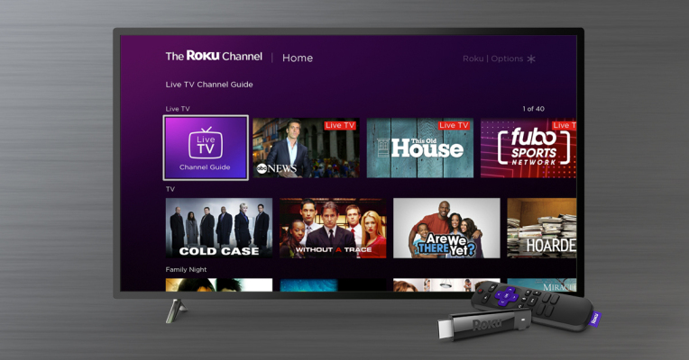 The Roku Channel expands to include over 100 live channels, adds a Live TELEVISION guide