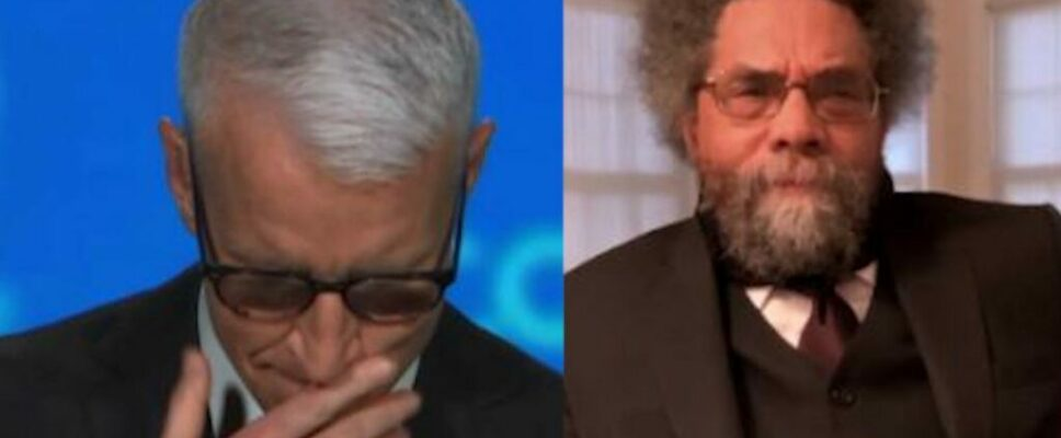 Cooper tears up over Cornel West's speech on Floyd family