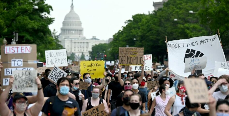 White Americans turn out for Floyd protests, but will they work for change?